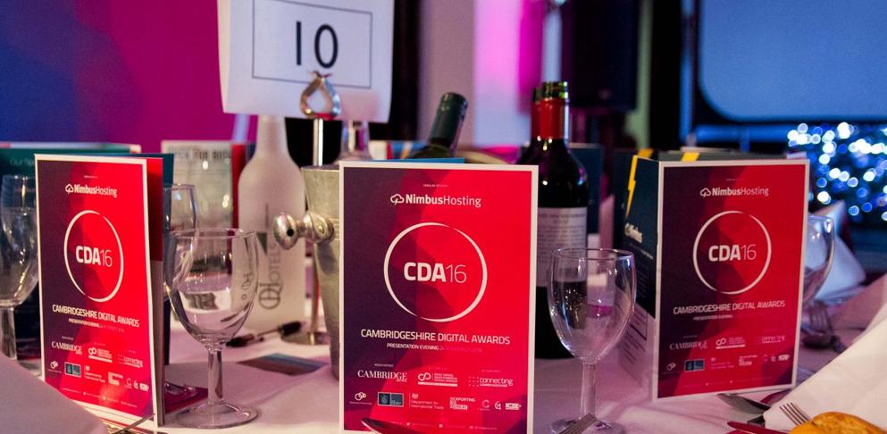 Digital Awards Table