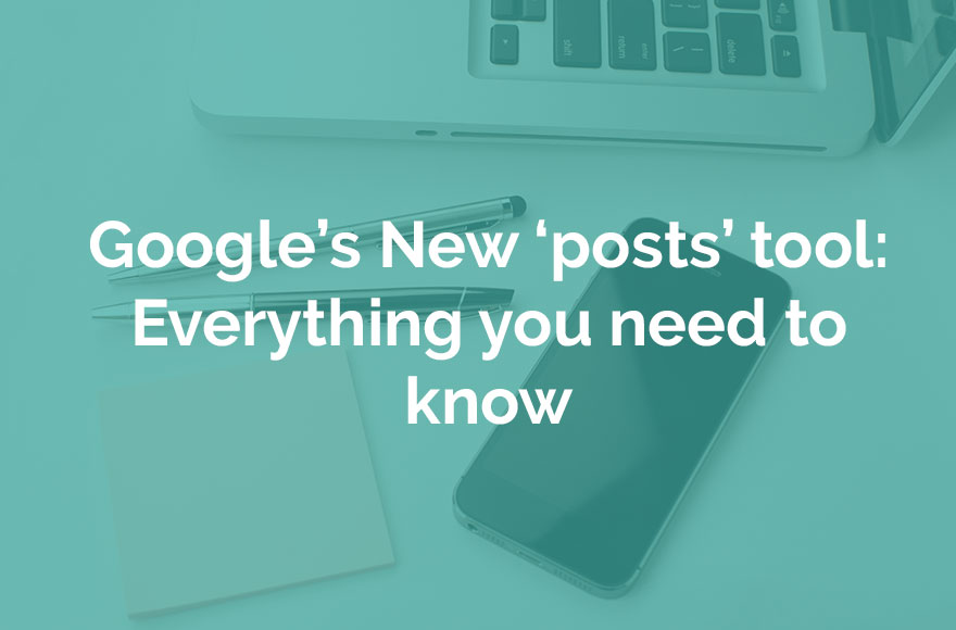 Google Posts information from Echo Web Solutions