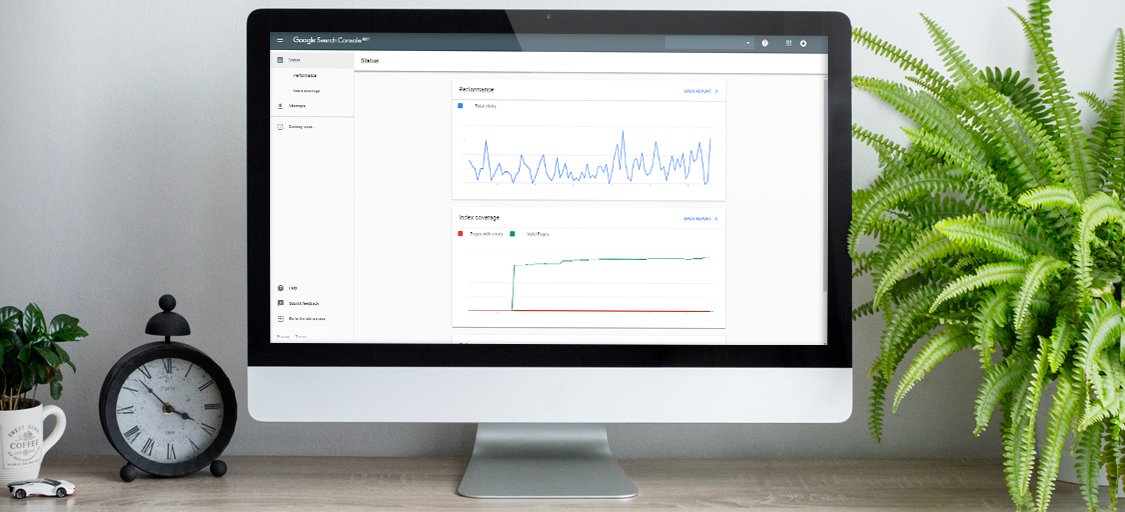 Google Search Console Changing