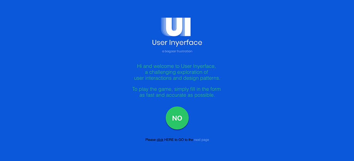 User Experience Mistakes