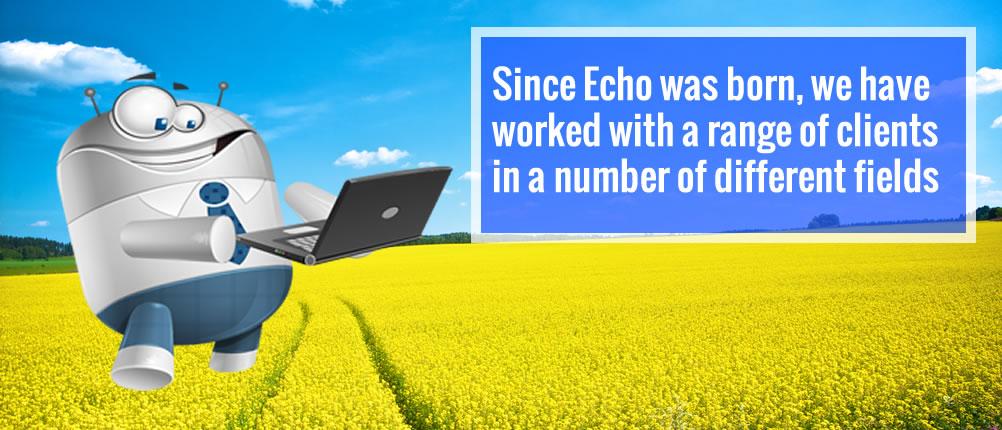 Echo's First Banner