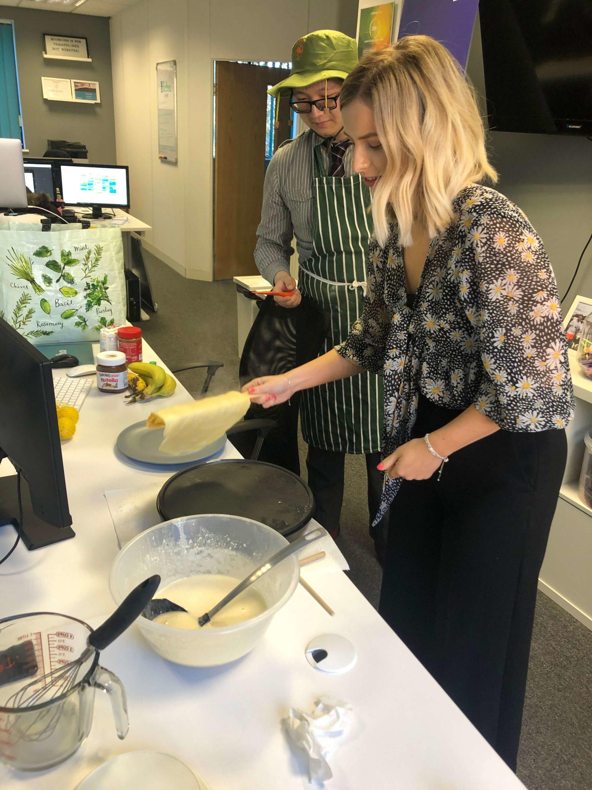 Pancake Day Leah