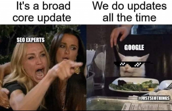 Broad Core Update Meme