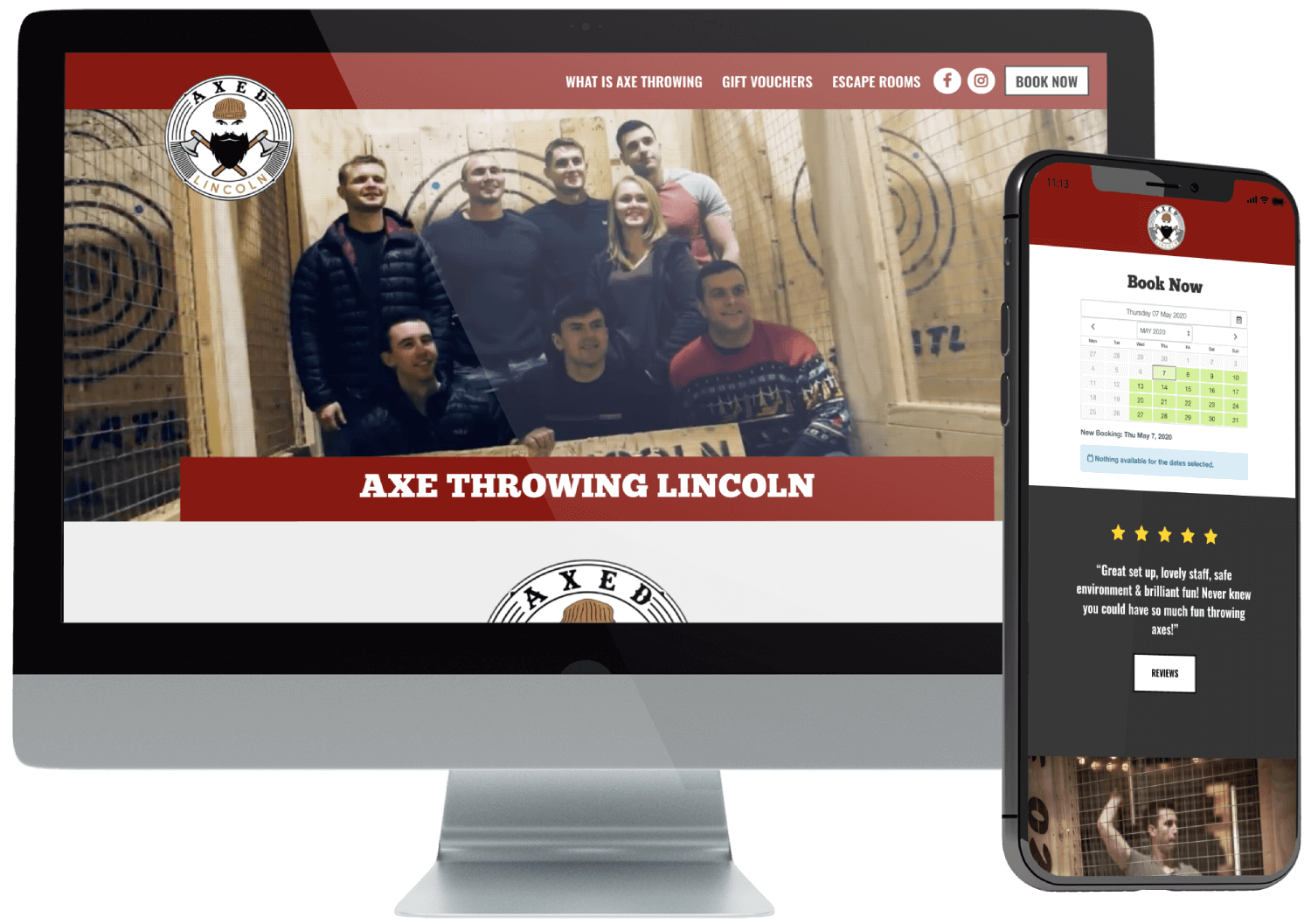 Axed Lincoln Website Build