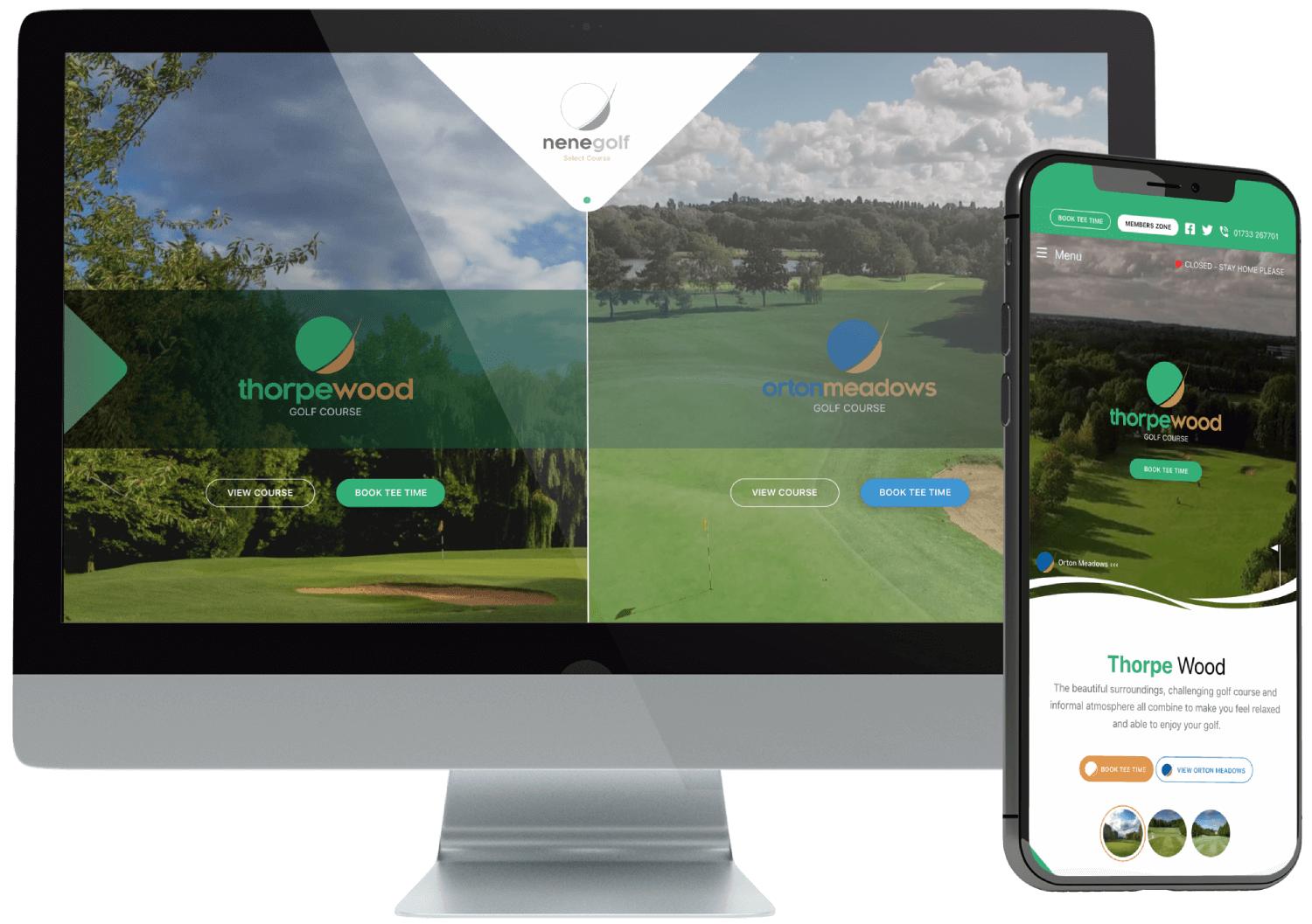 Nene Golf WordPress Multisite