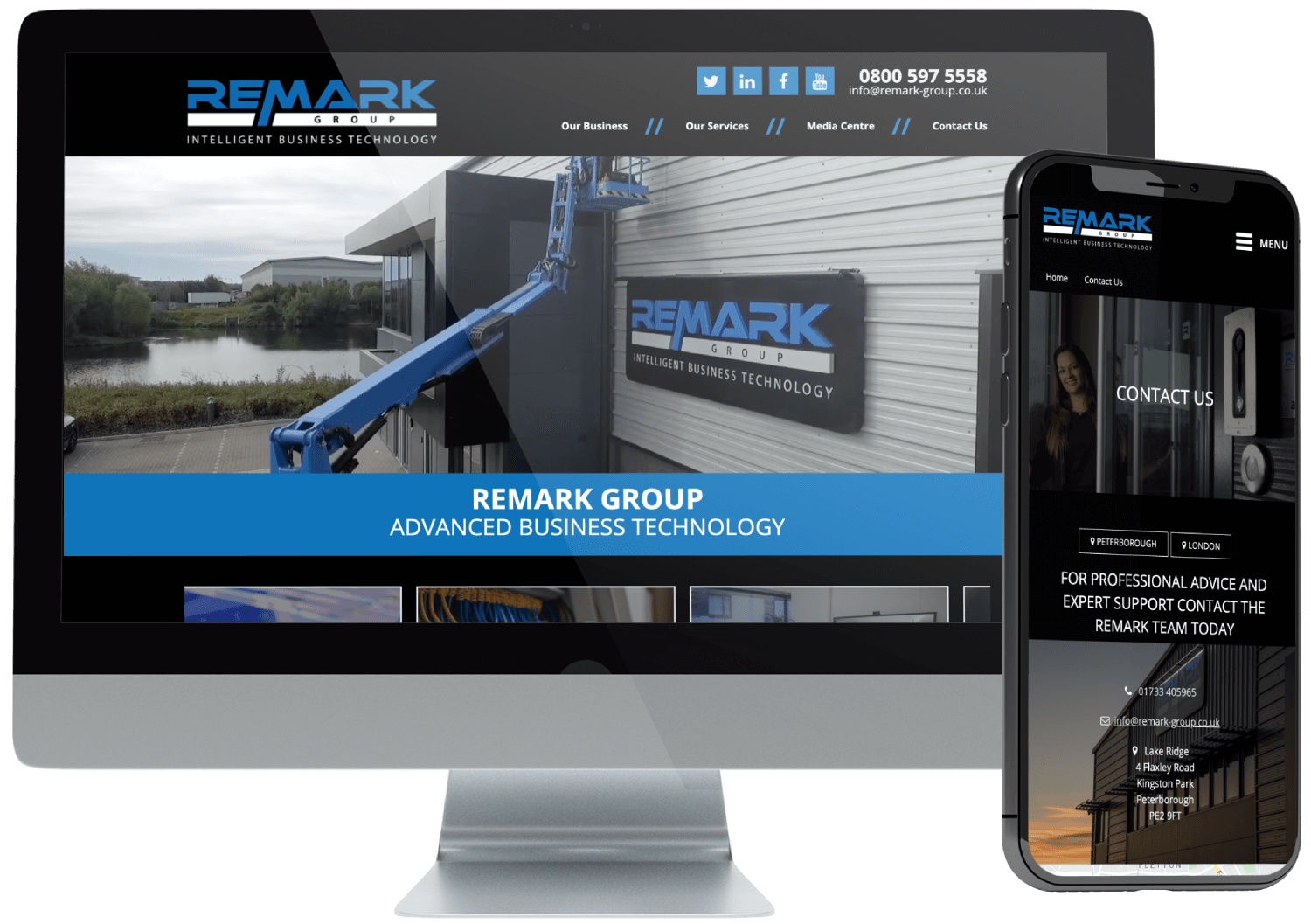 Remark Group Website Development