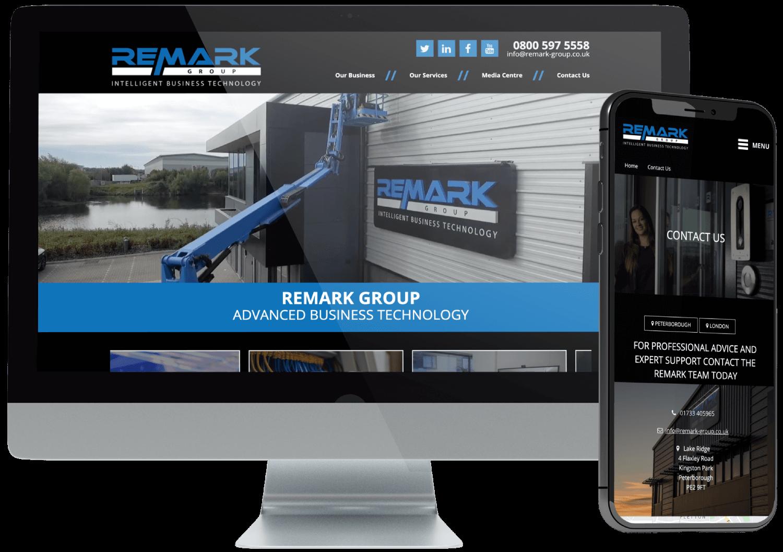 Remark Group Website Development