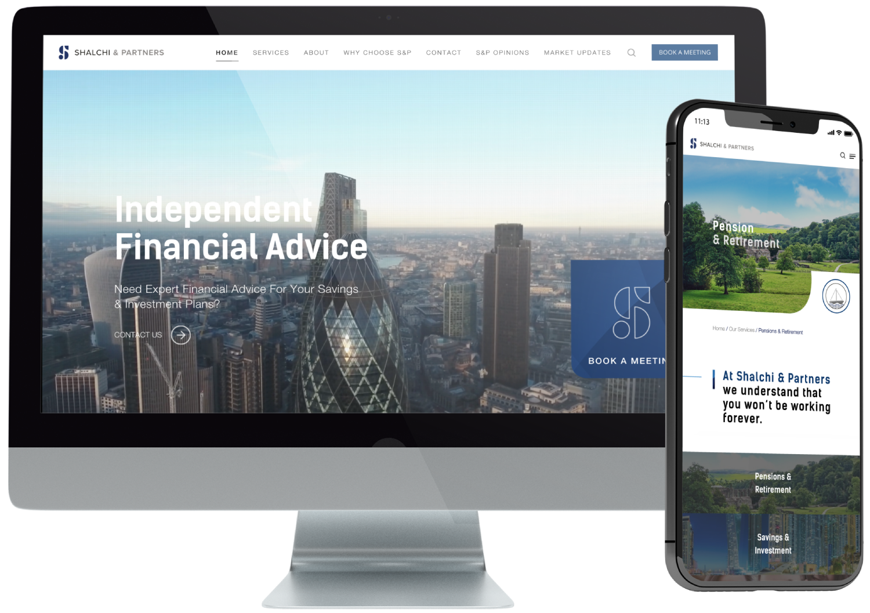 Shalchi & Partners Website Design