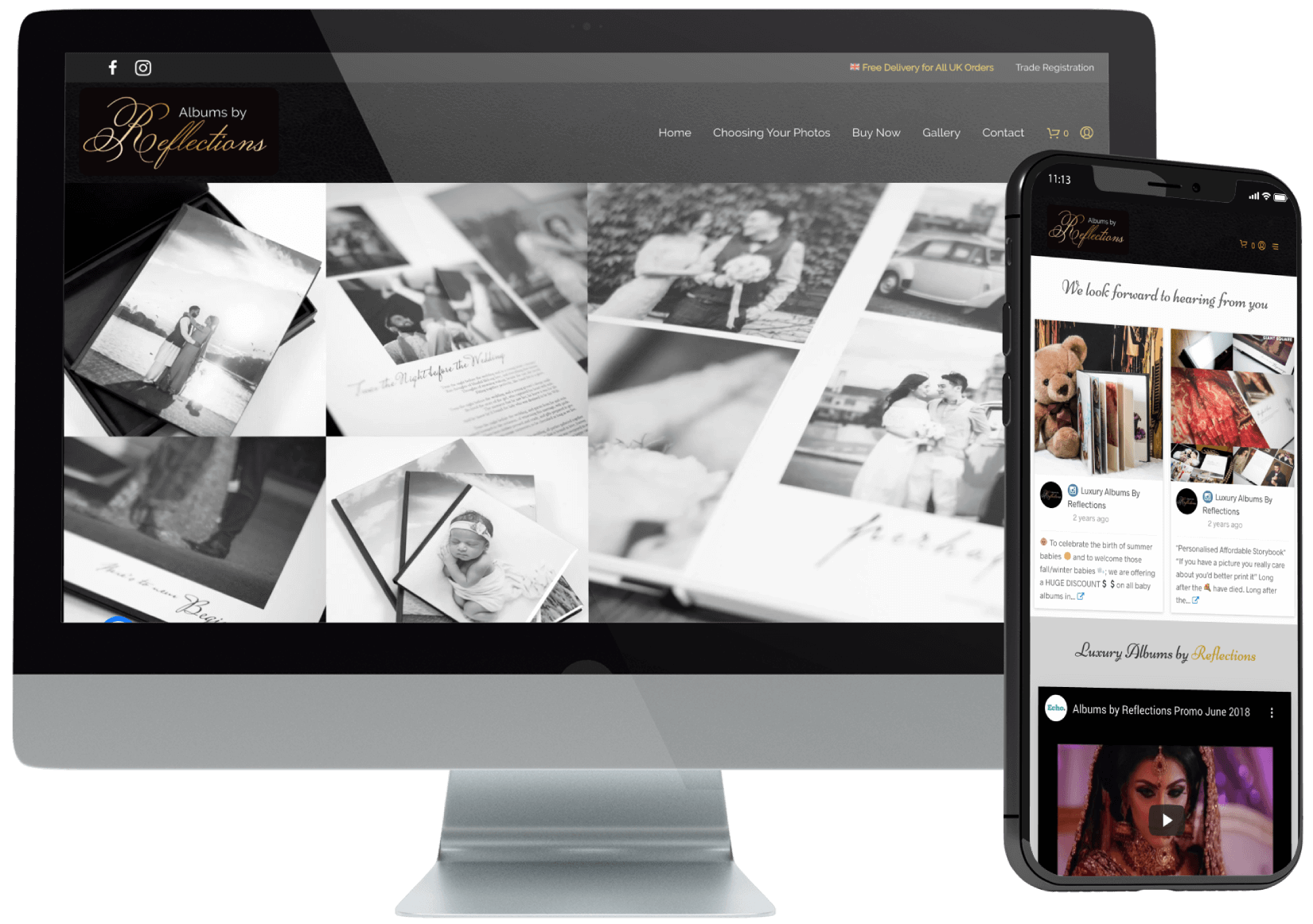 Albums by Reflections eCommerce