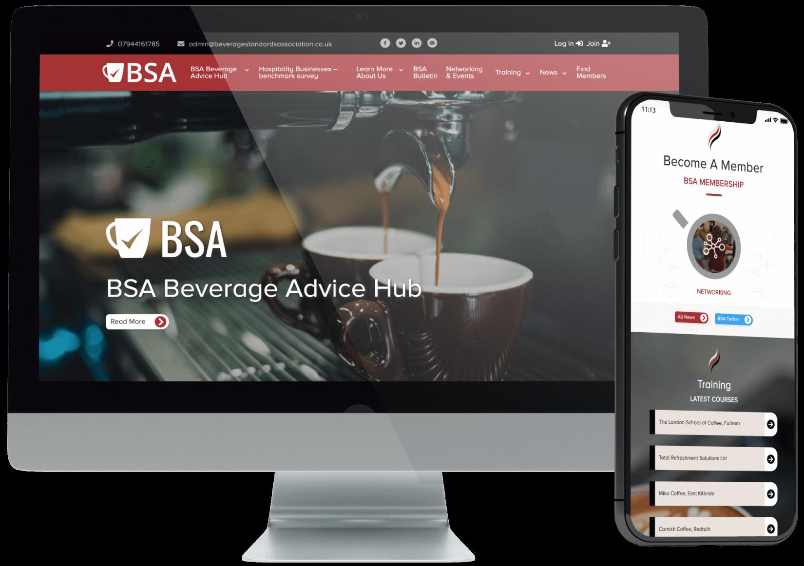 Beverage Standards Association Website