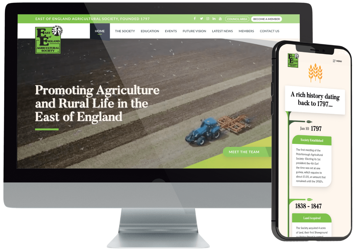 East of England AS Website Build