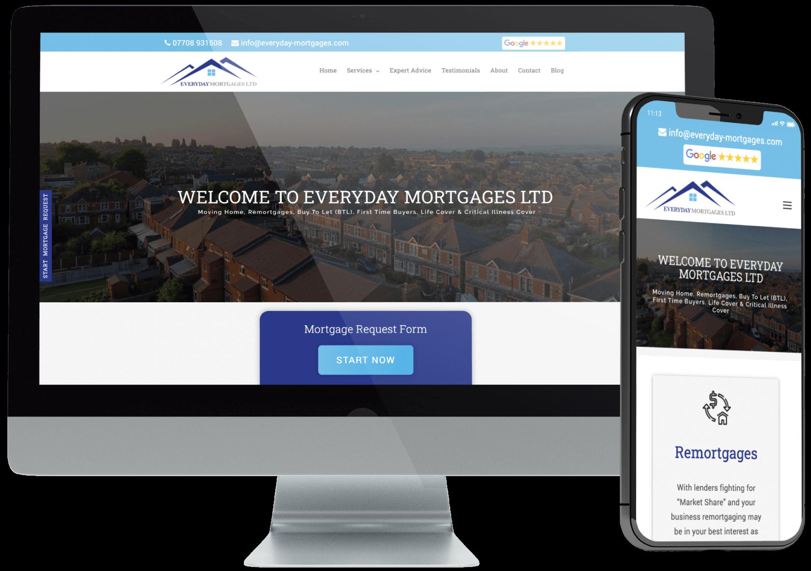 Everyday Mortgage Advisor Website