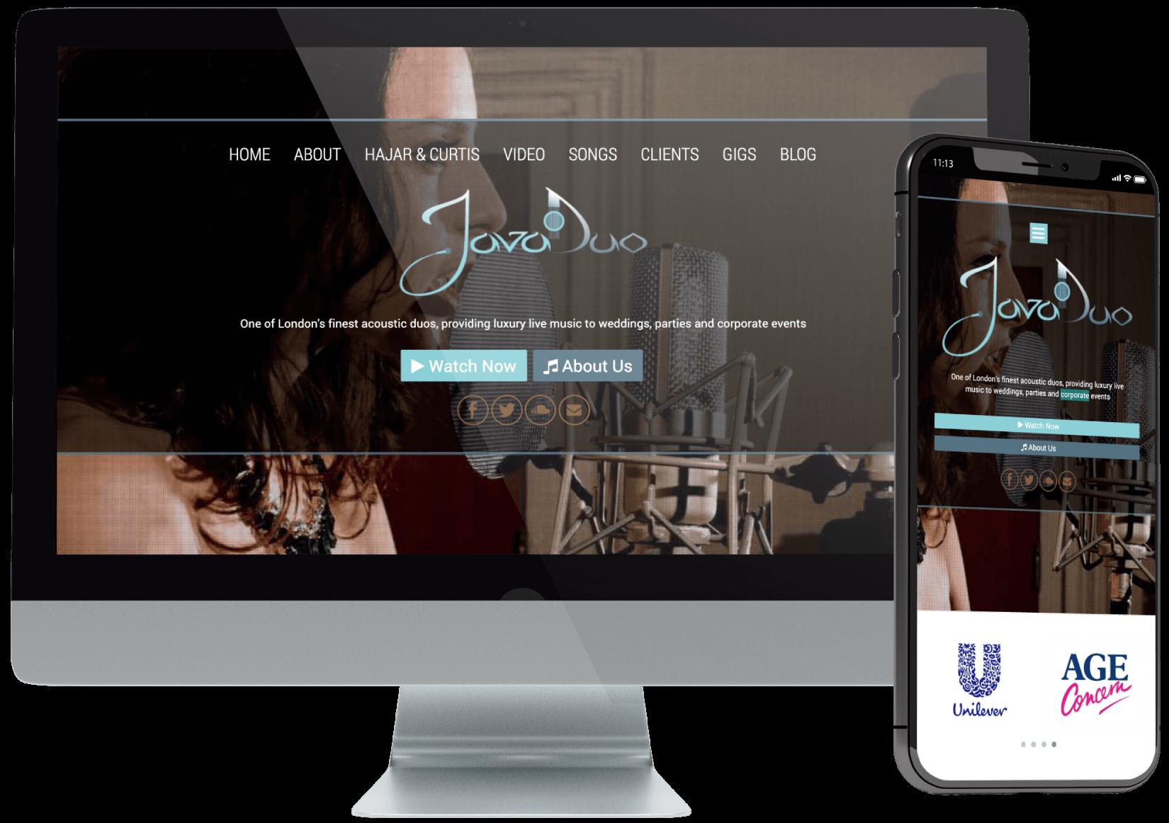 Javaduo Website Development