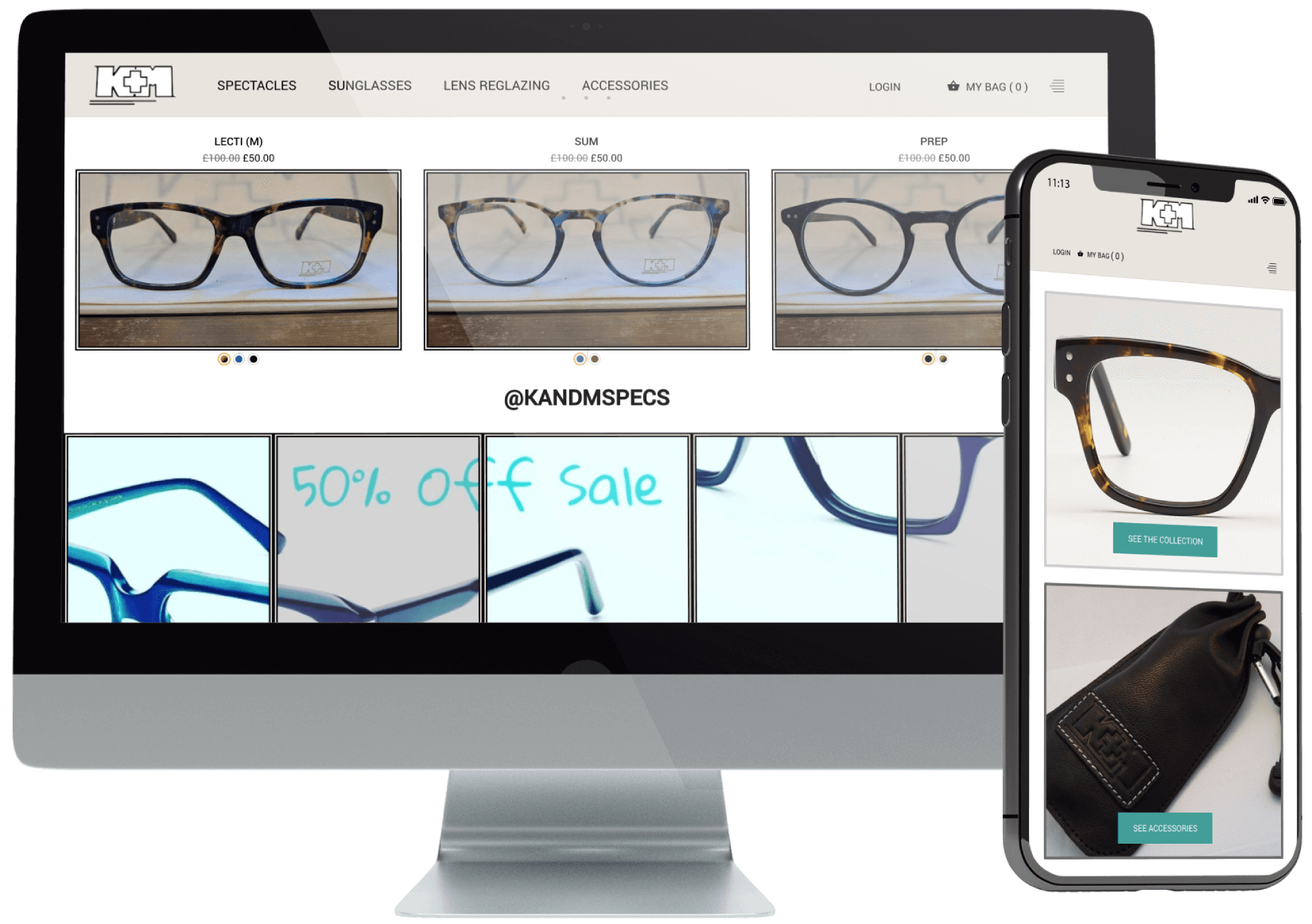 K&M Specs Website