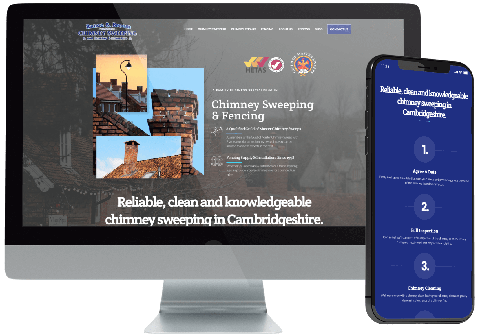 Rance & Broom Web Design