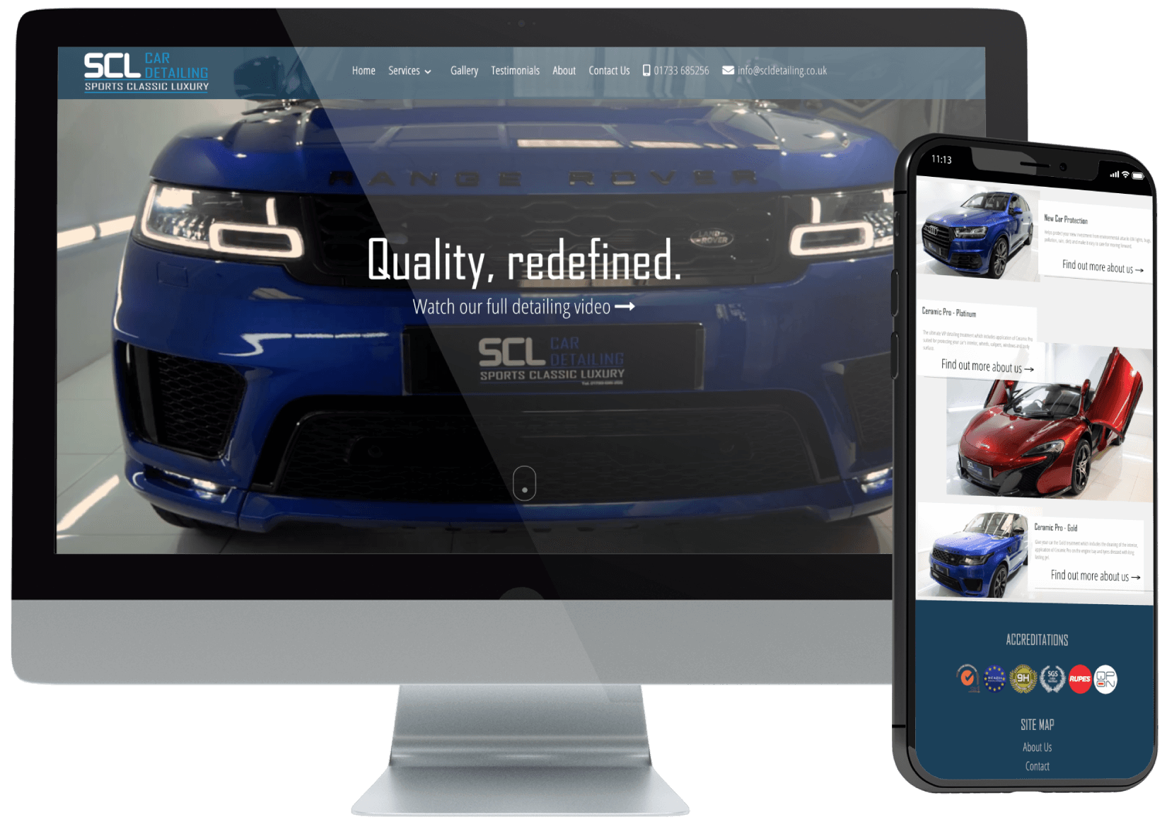 SCL Car Detailing Website
