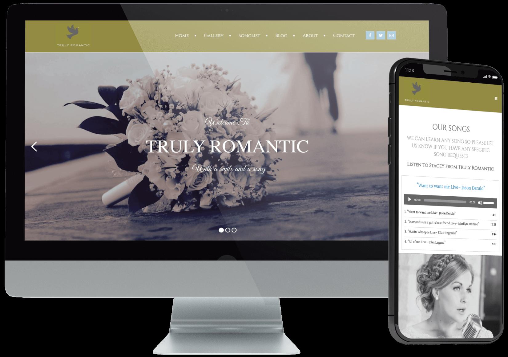 Truly Romantic Website