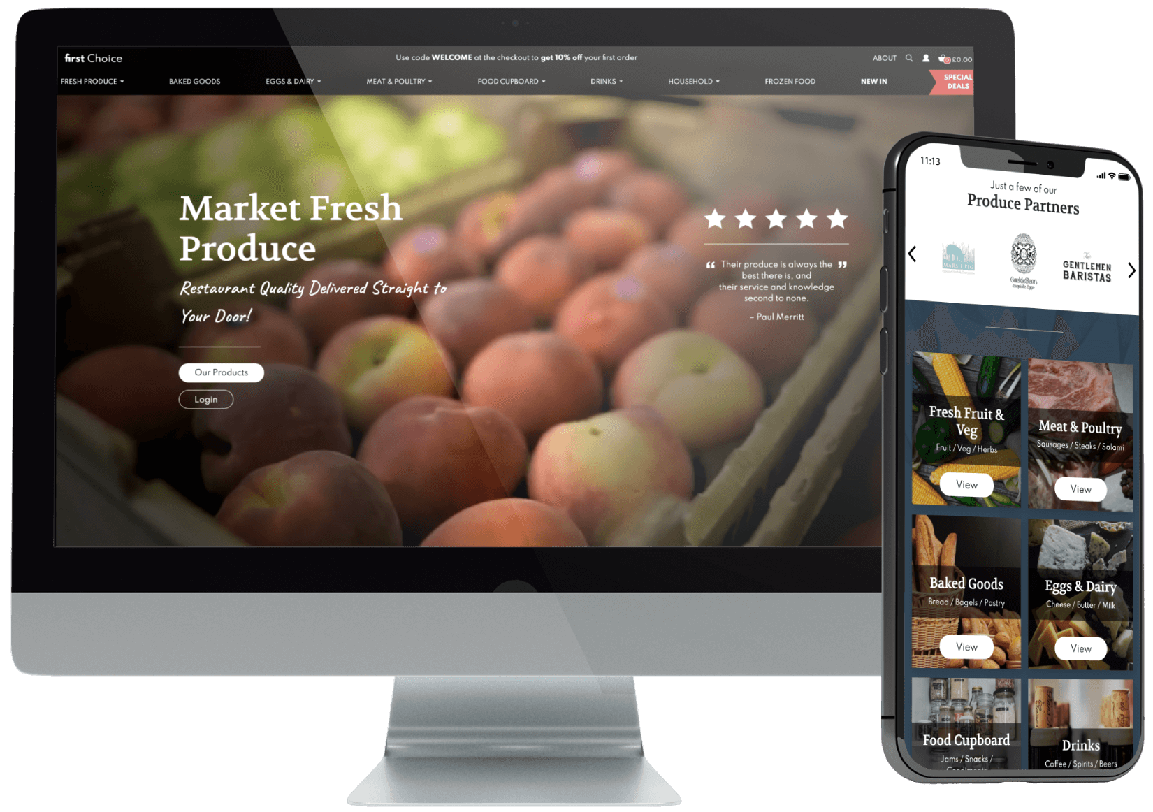 First Choice Produce eCommerce