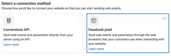 Step 1 - Choose Pixel