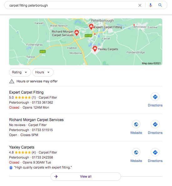 Local Pick Google